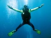 starfish diving (ohne strömung)